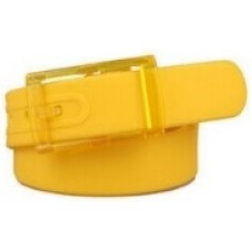 Silicone Belt - Yellow