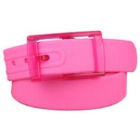 Pink Silicone Belt for Man and Women