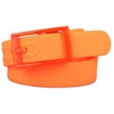 Orange Silicone Belt