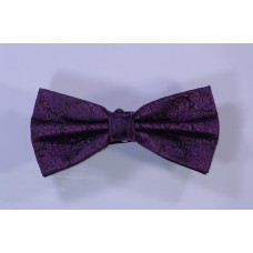 Bow tie - Black and purple