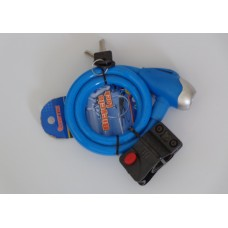 Blue Padlock for Bicycle