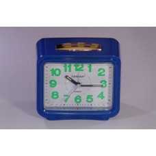Table quartz clock with alarm