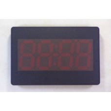 SlimNumeral Digital wall watch with red led