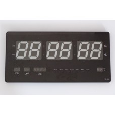 Numerical wall plasma clock with green led light