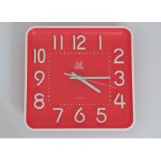 Red design wall watch
