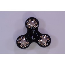 Black Anti stress spinner