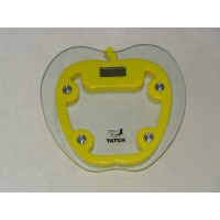Electronic Yellow Personal Scale- Tatch